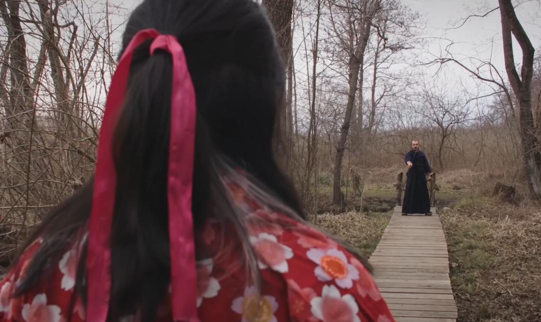 Due samurai per il trailer Cortisonici 2020